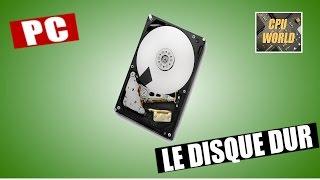 Le disque dur , présentation et méthode de récupération de données lors d'une panne