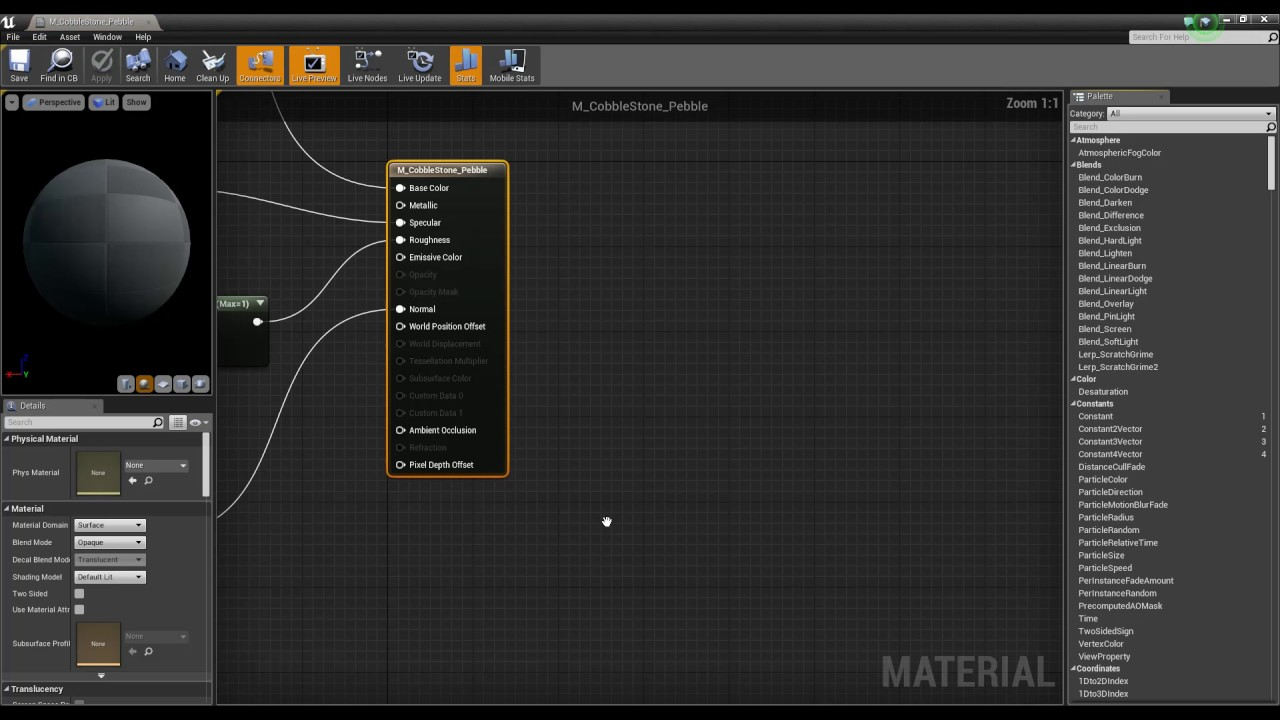 Material Editor Reference