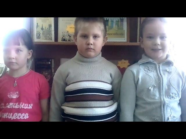 Изображение предпросмотра прочтения – «Кошаевский детский сад» читает произведение «Весна! Весна! Как воздух чист...» Е.А.Баратынского