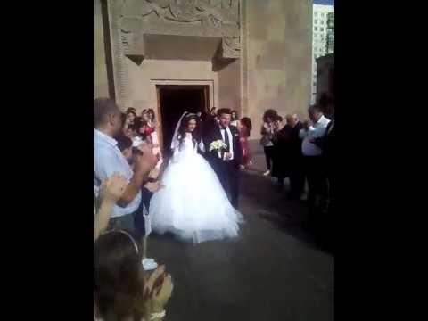 венчание  в  ААЦ  МОСКВЫ
