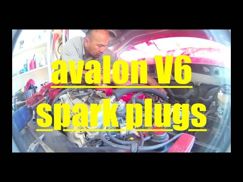 Toyota Avalon V6 DETAILED Spark Plug Replacement √ Fix It Angel