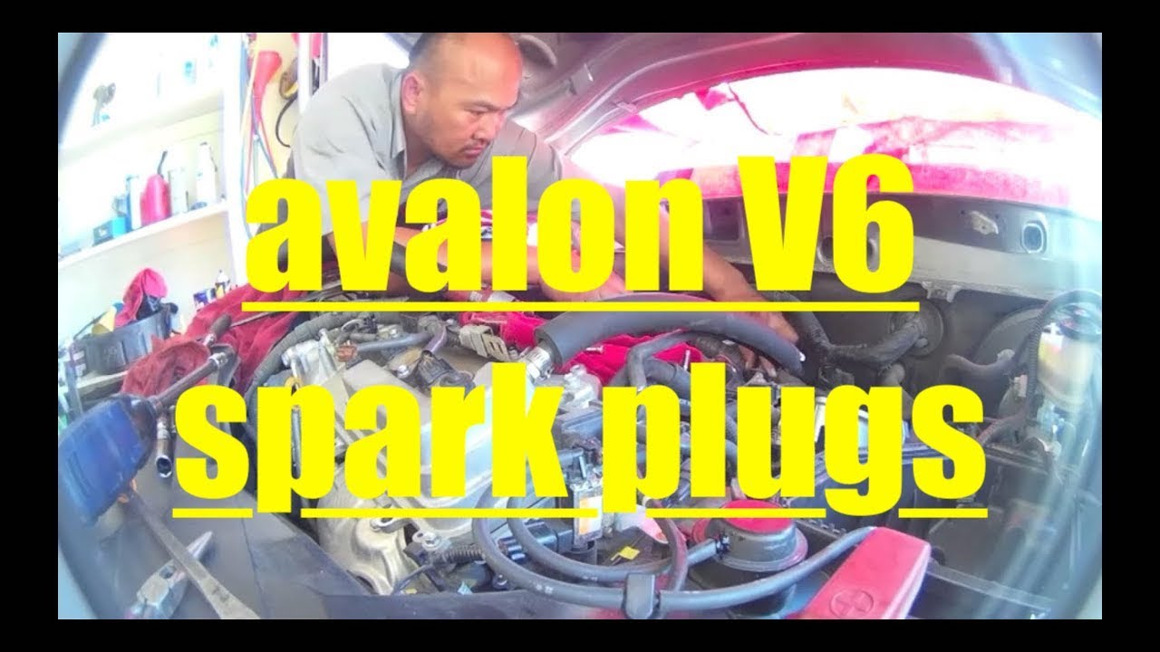 Toyota Avalon V6 DETAILED Spark Plug Replacement √  YouTube