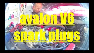 Toyota Avalon V6 DETAILED Spark Plug Replacement √(, 2016-03-30T04:13:04.000Z)