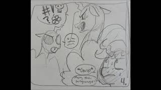 It actually doesn't surprise me that people were asking for the new episode after only a month (since WHEN does a month equate to a year???). We've actually been working on Episode 8 since before Episode 7's release. This clip is part of a preview we originally had planned for BronyCon, but due to delays on Episode 7, we had to show something else. Now, I'm sure many of you are aware of all the crazy stuff happening in the world right now (natural and unnatural). Some of our cast and crew members were affected by the recent hurricanes. They are alright, but it left them without internet for quite some time and thus, they did not receive my messages concerning Episode 8, which is not their fault, and I certainly hope some of you true fans can understand that.  Cast: Mothball - Rock29Roll Screwball - Katie Patterson Queen Chrysalis - truesailorcomet General Mantis - OneLoneShepherdVA  Storyboard by IduChan http://iduchan.deviantart.com