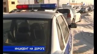 Инцидент на дороге: в Улан-Удэ сотрудники ГИБДД подверглись нападению(Простая проверка документов закончилась нападением на сотрудников ГИБДД. Решением проблемы стало табельн..., 2014-01-17T05:42:33.000Z)