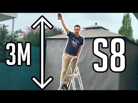 Faire tomber un Galaxy S8 de 3 mètres ! (Drop Test)