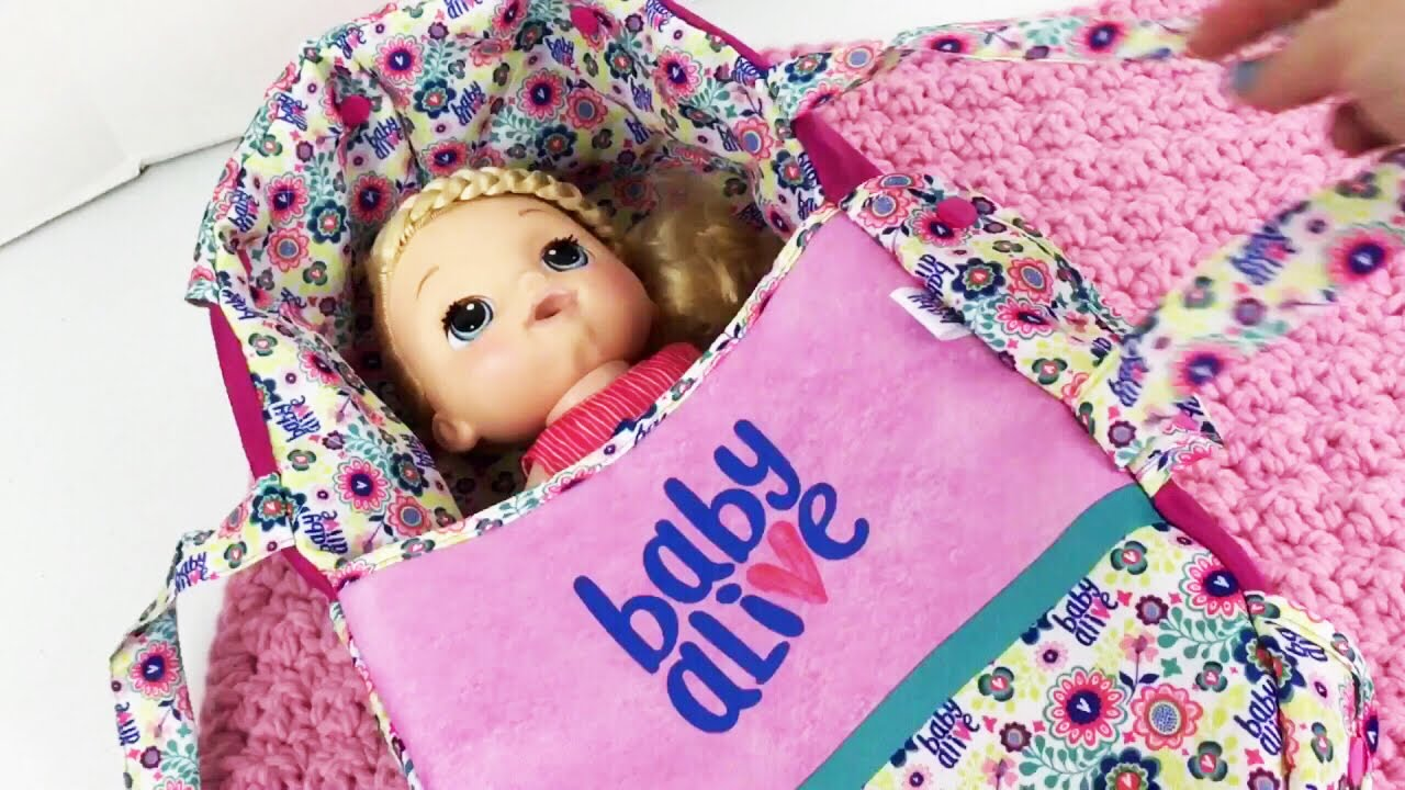 Baby Alive Doll Dreamer Pram Box Opening With Sweet Tears