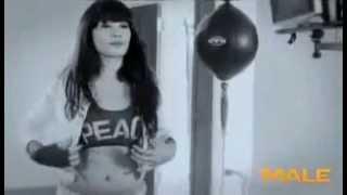 Repeat youtube video Nabila Putri   Tough Girl Male Magazine Photoshoot