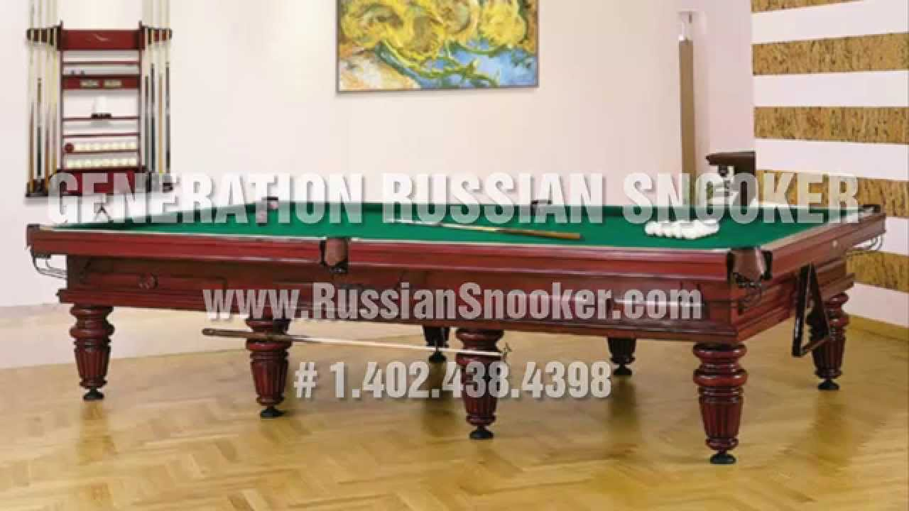 Russian Snooker Pool Tables