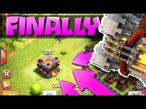 Clash of Clans TH 11 UPDATE  :: GEMMING TH 11 ::  ALL NEW DEFENSES!