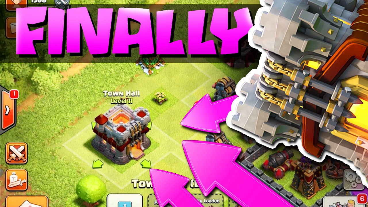 Clash Of Clans Th 11 Update Gemming All New Defenses You