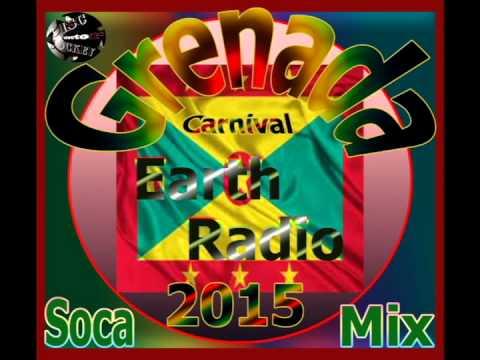 DiscJockeySelector - Grenada Carnival Radio Soca Mix 2015 (Earth Radio)