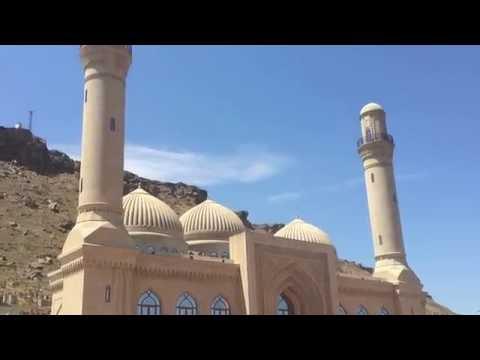 Азербайджан.  Баку2016.  Июнь.  Мечеть Биби Эйбат.