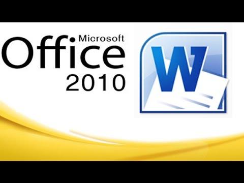 រៀន Microsoft word 2010 ( មេរៀនទី ១ )