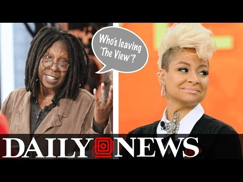 Whoopi Goldberg 'Fed Up' With 'The View' & Raven Symone May Also Exit