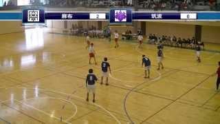 ハンドボールhandball 麻布大学×筑波大学 前半1