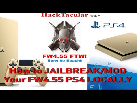 How to Jailbreak your PS4 LOCALLY ( without internet connection ) with Laptop or Android Phone