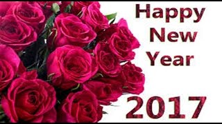 Happy New Year 2017 Greetings Whatsapp E card New Year Wishes Message HD