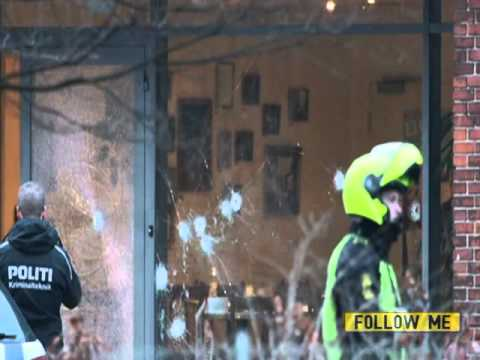 BBC News   Copenhagen shootings  Police kill 'gunman' after two attacks 3