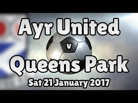 Ayr United v Queens Park (Sat 21 January 2017 Match Summary)