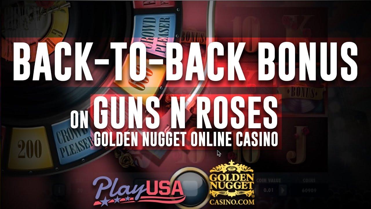 Guns N Roses Slot Back To Back Bonus Rounds Golden Nugget
