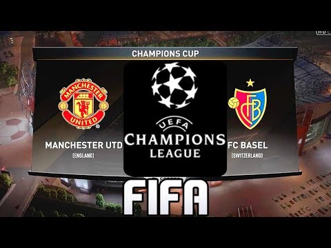FIFA PREDICTS - MANCHESTER UNITED VS FC BASEL - CHAMPIONS LEAGUE 2017/18!