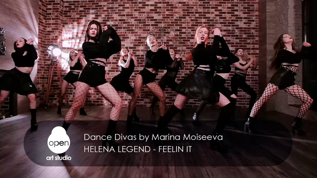 Helena Legend - Feelin it |  Dance Divas by Marina Moiseeva | Open Art Studio