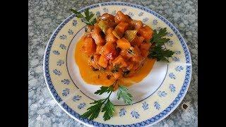 Салат из моркови c болгарским перцем | Carrot and  pepper salad