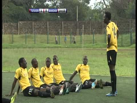 Tusker FC Kenya   Jessie Were   Funny Goal Celebration
