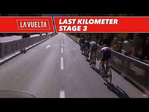 Last kilometer - Stage 3 - La Vuelta 2017