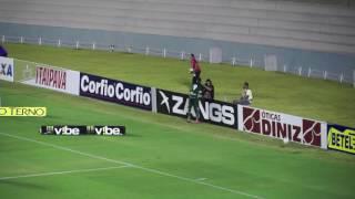 Primeiro gol de Marcão pelo Goiás