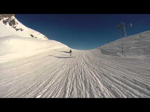 Skiing St Moritz 2015