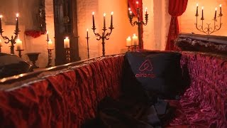 Gambar cover Inside Dracula's castle that's being rented out by Airbnb