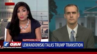 Corey Lewandowski talks Trump Transition and Senate Confirmation Hearings