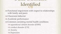 Vanderbilt Screening Test for ADHD