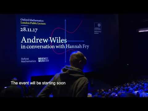 Andrew Wiles - Oxford Mathematics London Public Lecture HQ