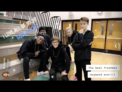 Edmond Santa Fe High School Freshmen Boybands 2019 DWDW (ft  Preston,  Austin, David, Caleb, and TJ)