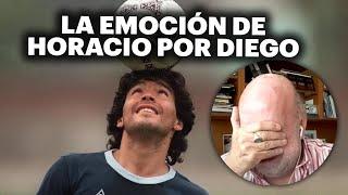 El llanto de Horacio Pagani por Maradona |