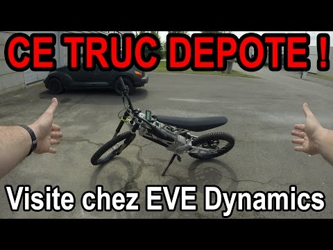Pitbike et VTT électrique ⚡ ?! - Visite chez EVE Dynamics