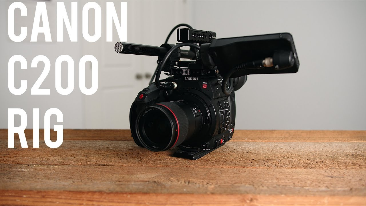 My Simple Yet Effective Canon C200 Rig