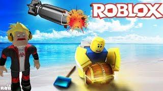 Roblox | Dùng Bom B52 Đào Vàng | Treasure Hunt Simulator | MinhMaMa