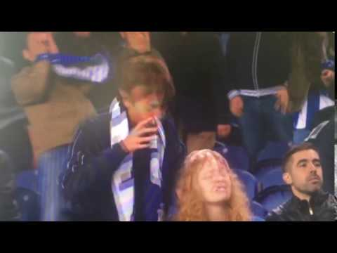 Brother hits sister during football match - FC Porto vs FC Copenhagen