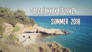 DATÇA & AKYAKA TURKEY TRAVEL | 2018 Summer | Vlog Music Video
