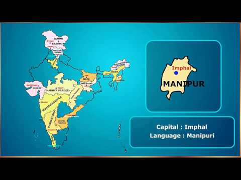 Learning Indian States with its capital