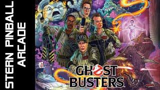 Ghostbusters Stern Pinball Arcade Cabinet