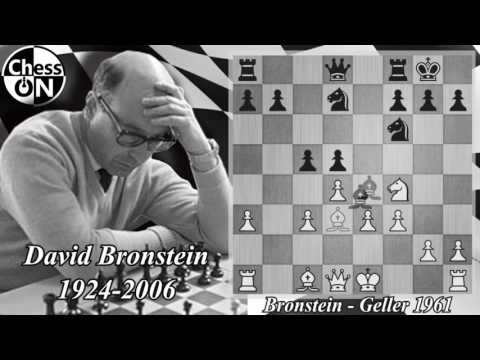 Best Chess Games of all Time - Bronstein