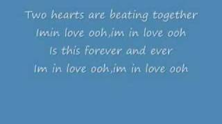 KYLIE MINOGUE LYRICS for Two Hearts (2 hearts onscreen text)