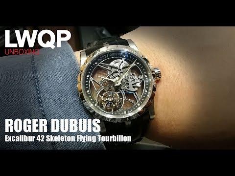 Unboxing - Roger Dubuis Excalibur 42 Skeleton Flying Tourbillon