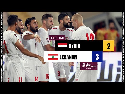 #AsianQualifiers - Group A | Syria 2 - 3 Lebanon