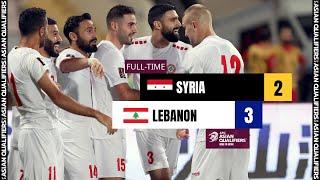 Сирия  2-3  Ливан видео